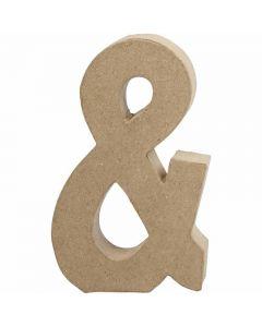 Signe, &, H: 19,9 cm, L: 11,5 cm, ép. 2,5 cm, 1 pièce
