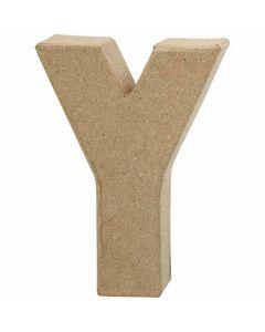 Lettre, Y, H: 10 cm, L: 7,9 cm, ép. 1,7 cm, 1 pièce