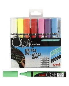 Feutre à craie, chalk, trait 1,8-2,5 mm, 8 pièce/ 1 Pq.