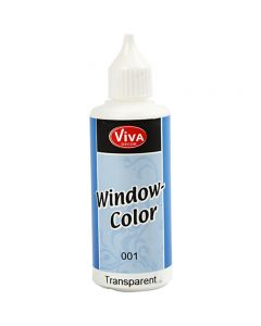 Window Color, transparent, 80 ml/ 1 flacon