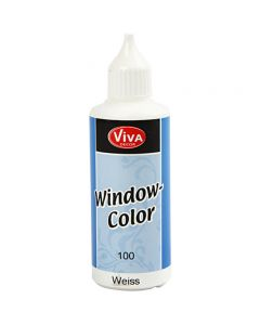 Window Color, blanc, 80 ml/ 1 flacon