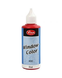 Window Color, rouge, 80 ml/ 1 flacon