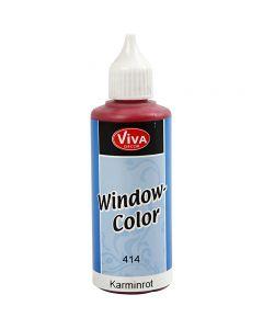 Window Color, rouge carmin, 80 ml/ 1 flacon