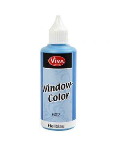 Window Color, bleu clair, 80 ml/ 1 flacon