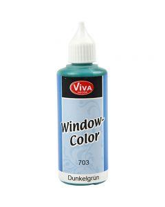 Window Color, vert foncé, 80 ml/ 1 flacon