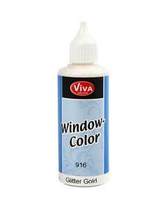 Window Color, glitter or, 80 ml/ 1 flacon