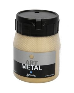 Peinture Art Metal, or clair, 250 ml/ 1 flacon