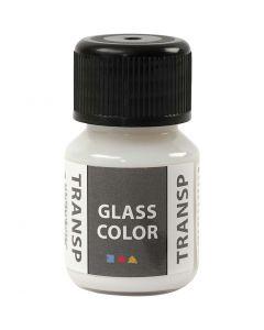 Glass Color transparente, blanc, 30 ml/ 1 flacon
