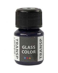 Glass Color transparente, bleu marine, 30 ml/ 1 flacon