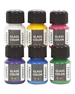 Glass Frost, couleurs assorties, 6x30 ml/ 1 Pq.
