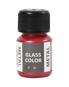 Glass Metal, rouge, 30 ml/ 1 flacon