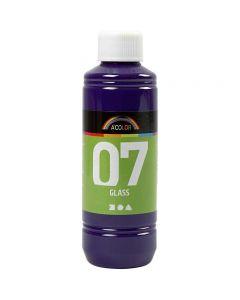 Peinture A-Color Glass, violet rouge, 250 ml/ 1 flacon