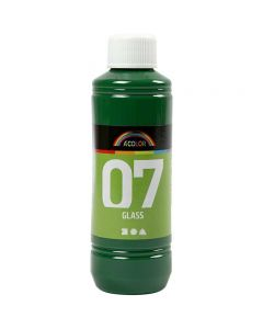 Peinture A-Color Glass, vert brillant, 250 ml/ 1 flacon