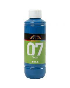 Peinture A-Color Glass, turquoise, 250 ml/ 1 flacon