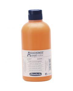 Schmincke AKADEMIE® Acryl color , semi transparent, cadmium orange hue (227), 500 ml/ 1 flacon