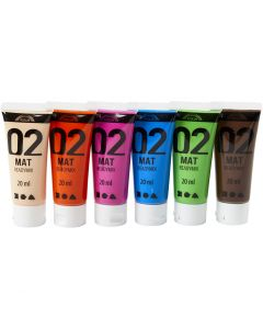 A-Color Mate, mate, couleur extra, 6x20 ml/ 1 Pq.