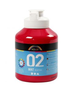 A-Color Mate, mate, rouge primaire, 500 ml/ 1 flacon