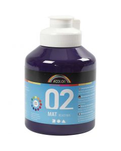 A-Color Mate, mate, violet, 500 ml/ 1 flacon