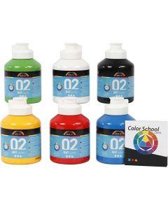 A-Color Mate, mate, coleur primaire, 6x500 ml/ 1 Pq.