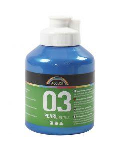 A-Color Métallique, Métallisé, bleu, 500 ml/ 1 flacon