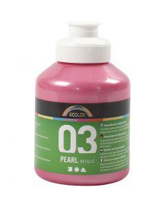 A-Color Métallique, Métallisé, rouge clair, 500 ml/ 1 flacon