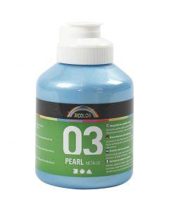 A-Color Métallique, Métallisé, bleu clair, 500 ml/ 1 flacon