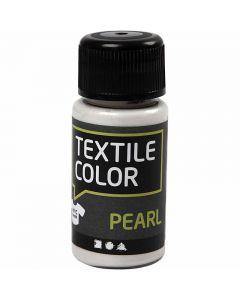 Peinture Textile Color , nacré, base, 50 ml/ 1 flacon