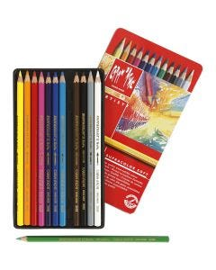 Supracolor II, L: 17 cm, couleurs assorties, 12 pièce/ 1 Pq.