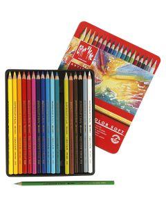 Supracolor II, L: 17 cm, couleurs assorties, 18 pièce/ 1 Pq.