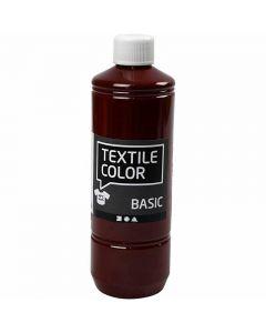Peinture Textile Color, brun, 500 ml/ 1 flacon