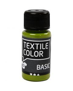 Peinture Textile Color, kiwi, 50 ml/ 1 flacon