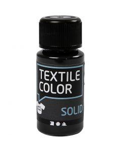 Textile Solid, opaque, noir, 50 ml/ 1 flacon
