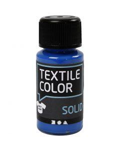 Textile Solid, opaque, bleu brillant, 50 ml/ 1 flacon