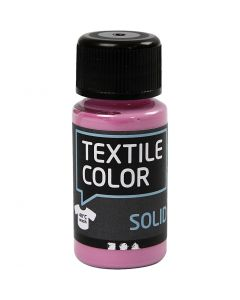 Textile Solid, opaque, rose, 50 ml/ 1 flacon