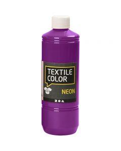 Textile Color, violet néon, 500 ml/ 1 flacon