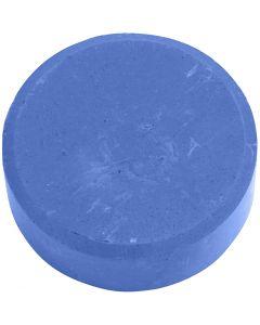 Gouache - Assortiment, H: 16 mm, d: 44 mm, bleu, 6 pièce/ 1 Pq.