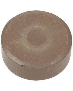 Gouache - Assortiment, H: 19 mm, d: 57 mm, brun, 6 pièce/ 1 Pq.