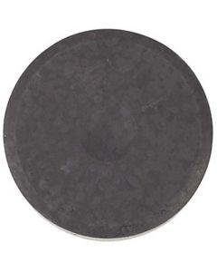Gouache - Assortiment, H: 19 mm, d: 57 mm, noir, 6 pièce/ 1 Pq.