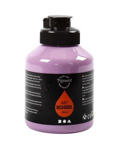 Peinture Pigment Art School, opaque, violet, 500 ml/ 1 flacon