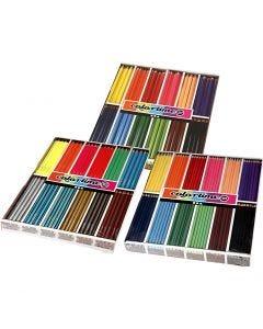 Crayons de couleur Colortime , couleurs assorties, 576 pièce/ 1 Pq.