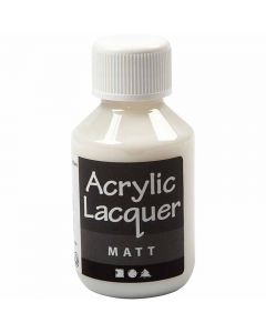Vernis acrylique, mate, 100 ml/ 1 flacon