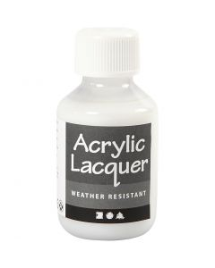 Vernis acrylique, 100 ml/ 1 flacon