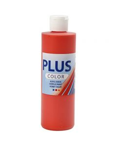 Peinture acrylique Plus Color, brilliant red, 250 ml/ 1 flacon