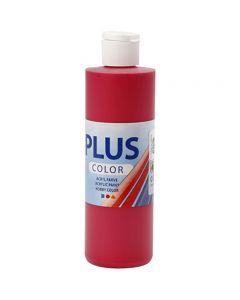 Peinture acrylique Plus Color, berry red, 250 ml/ 1 flacon