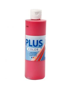 Peinture acrylique Plus Color, rouge primaire, 250 ml/ 1 flacon