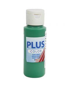 Peinture acrylique Plus Color, vert brillant, 60 ml/ 1 flacon