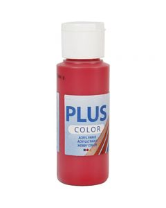 Peinture acrylique Plus Color, berry red, 60 ml/ 1 flacon