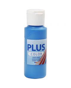 Peinture acrylique Plus Color, bleu primaire, 60 ml/ 1 flacon