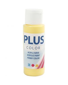 Peinture acrylique Plus Color, primrose yellow, 60 ml/ 1 flacon