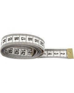 Mètre à ruban, L: 150 cm, 6 pièce/ 1 Pq.